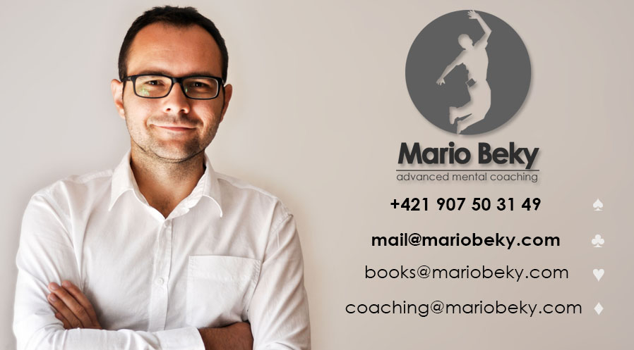 Contact info Advanced Mental Coaching Mario Beky Kontakt Kontakty