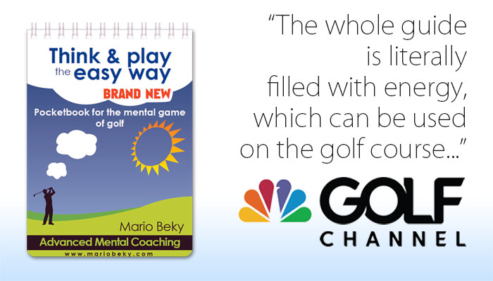 Golf Channel on Pocketbook for the mental game of golf