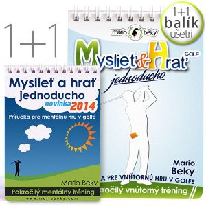 Mysliet a hrat jednoducho Mario Beky Advanced Mental Coaching Bundle 2p