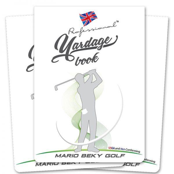 Professional Yardage Book Mario Beky
