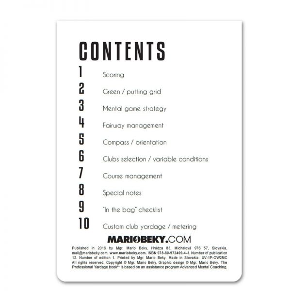 Professional Yardage Book Mario Beky Advanced Mental Coaching e1