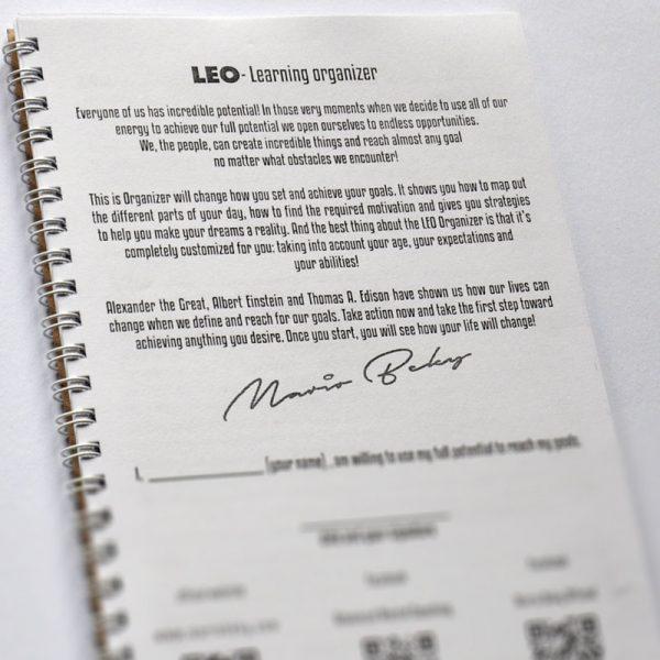 LEO Learning organizer Mario Beky Advanced Mental Coaching