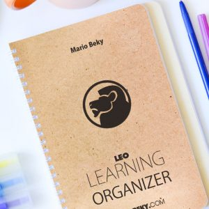 LEO Learning organizer Advanced Mental Coaching Mario Beky pocket guides