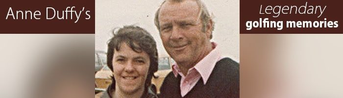 Arnold Palmer, Legend of golf – Anne Duffy