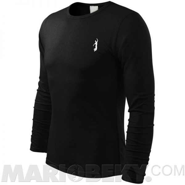 Long sleeve Tshirt black 2 mariobeky Victory