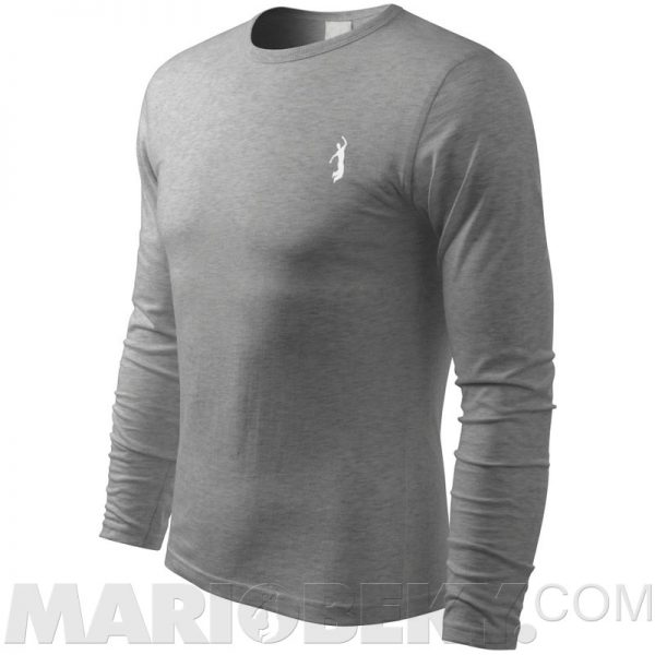 Long sleeve Tshirt dark gray W 2 mariobeky Victory