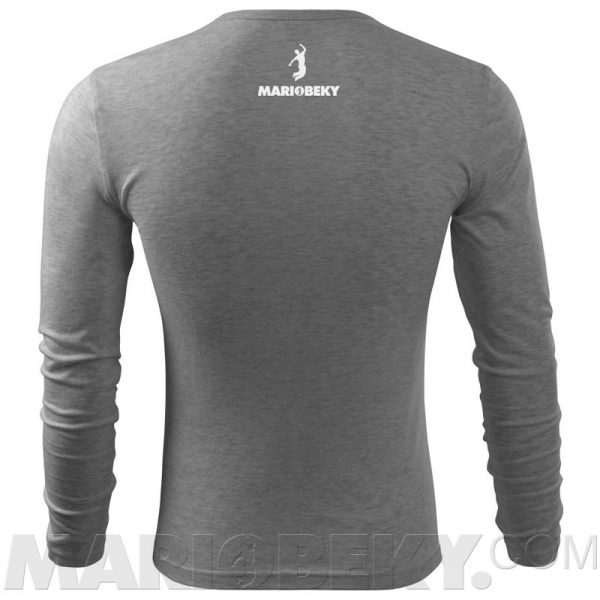Long sleeve Tshirt dark gray W 4 mariobeky Victory