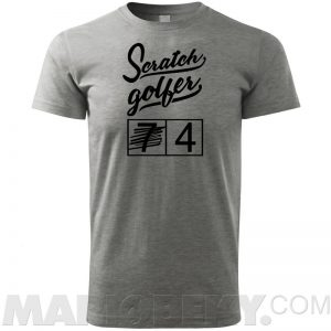 Scratch Golfer T-shirt