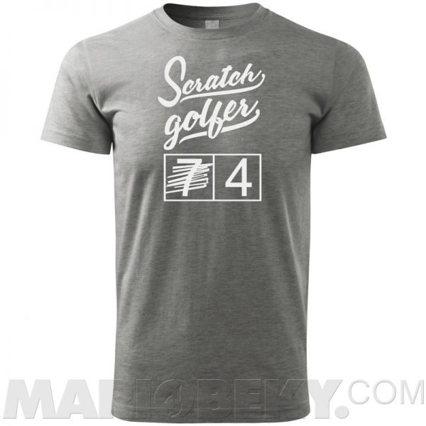 Scratch Golfer T-shirt
