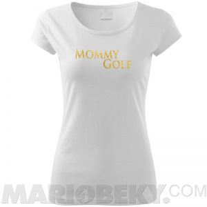 Mommy Golf Tshirt