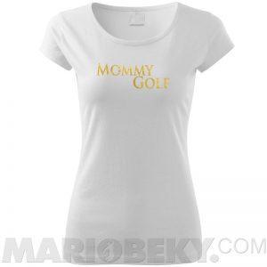 Mommy Golf Tshirt