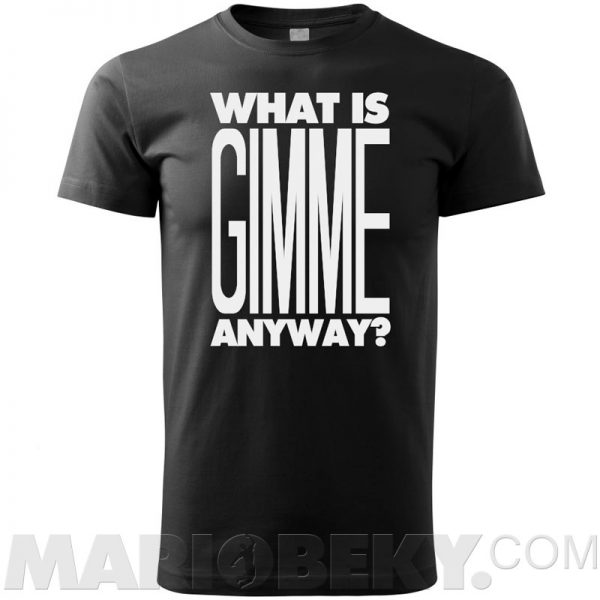 What Is Gimme Golf T-shirt