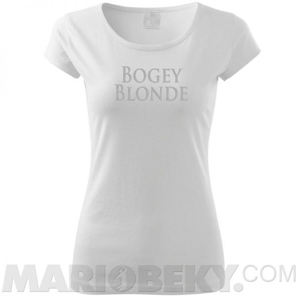 Bogey Blonde Ladies T-shirt