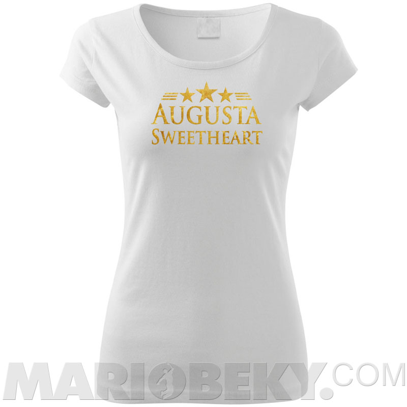 Augusta Sweetheart T Shirt Ladies Chic Mariobeky Com