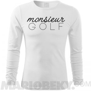 Monsieur Golf Long Sleeve T-shirt