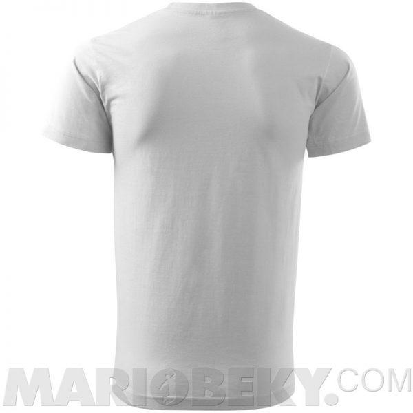 MB WHITE T-SHIRT MARIOBEKY BACK