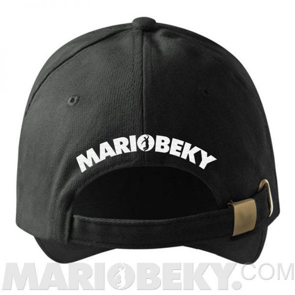Baseball Hat MARIOBEKY Hat BW Back