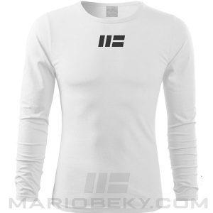 Longsleeve t-shirt Mario Beky Four White