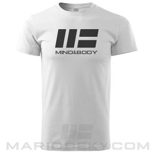 Tshirt Mario Beky MB Mind and body White