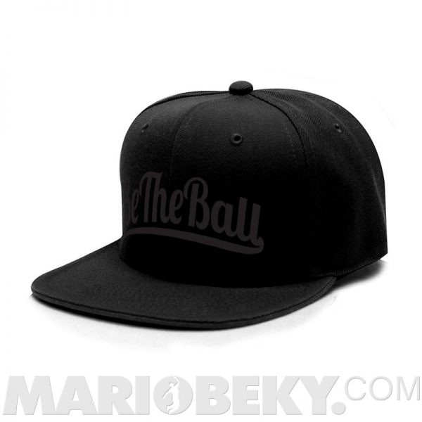 Be The Ball Snapback Cap MARIOBEKY