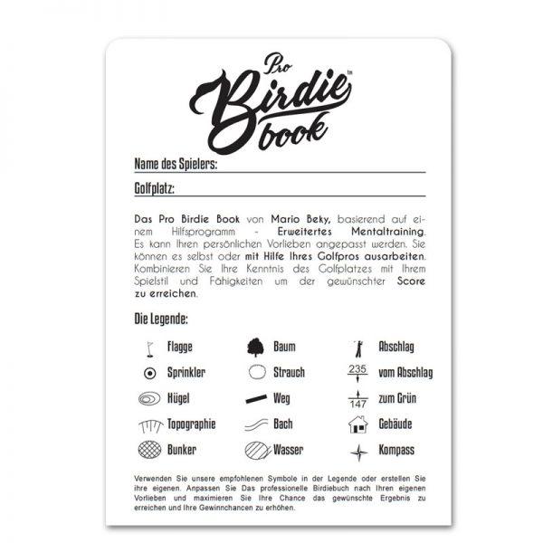Pro Birdie Book Mario Beky