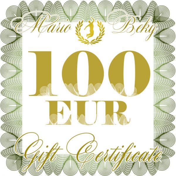 100 eur gift certificate mariobeky G