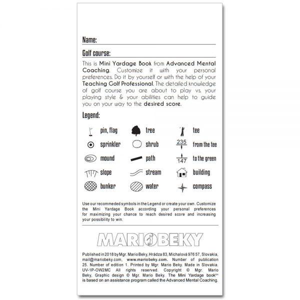 Mini Yardage Book Mario Beky