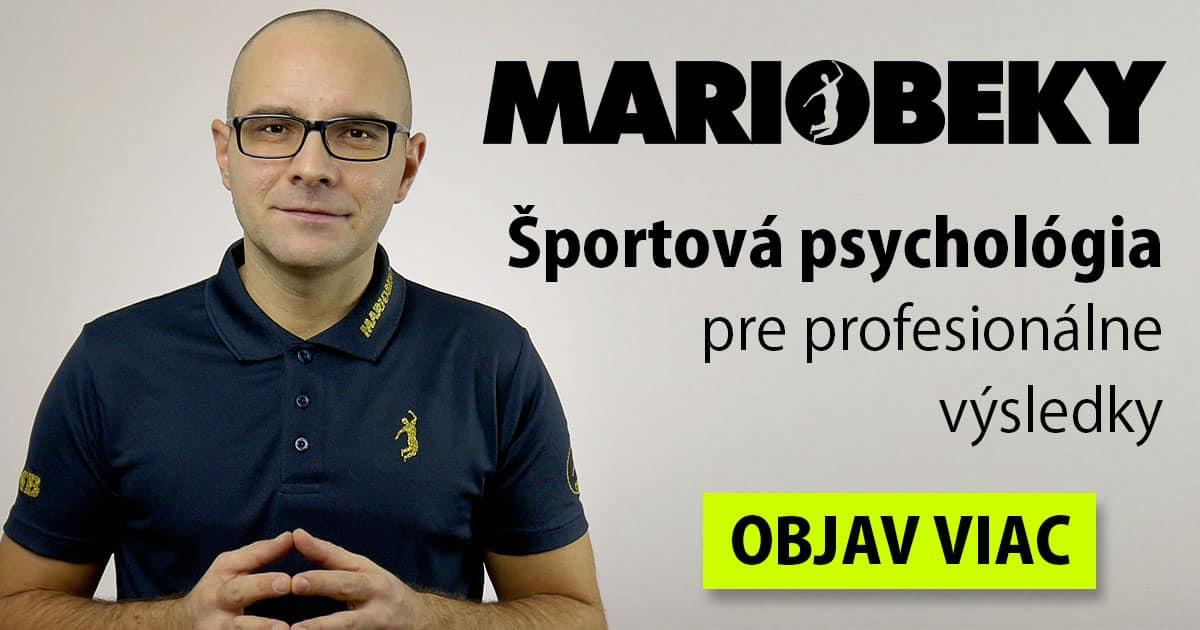 MARIOBEKY Športová psychológia pre profesionálne výsledky