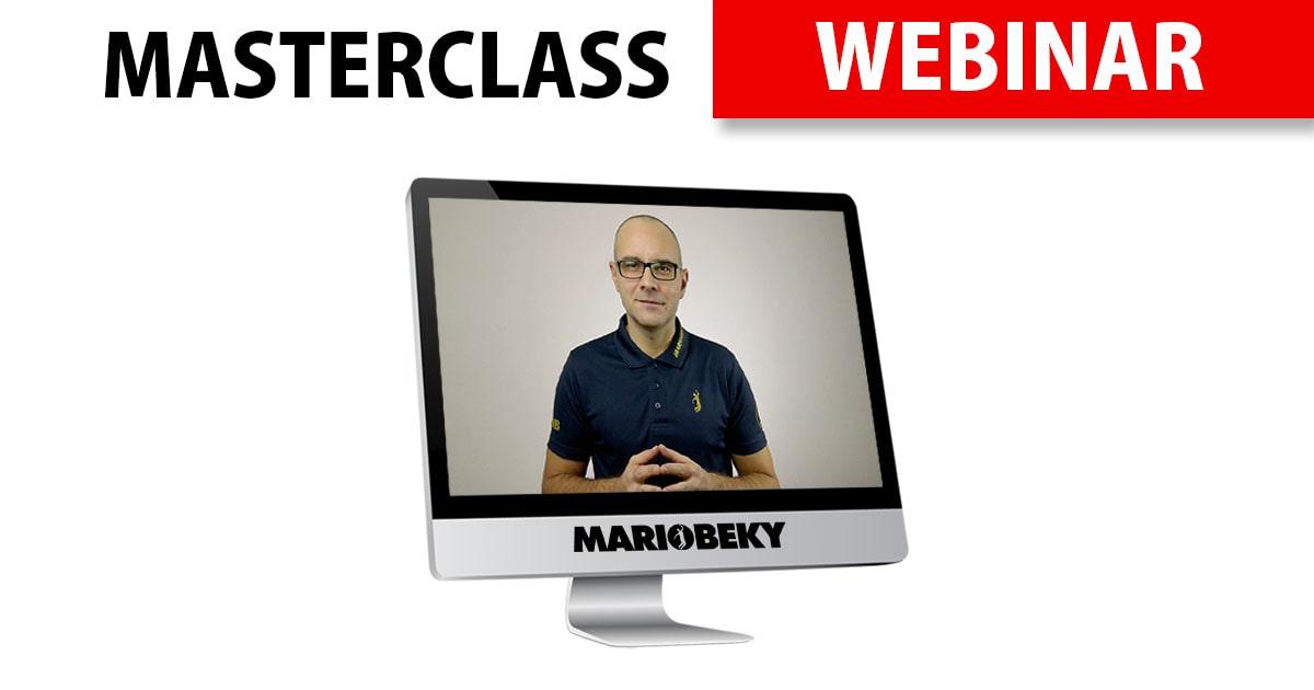 MARIOBEKY Masterclass Webinars