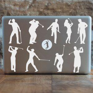 Golfing stickers Mario Beky