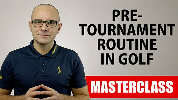 pre-tournament routinein golf webinar mario beky