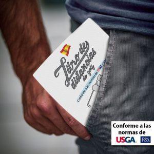 Libro de distancias de golf Mario Beky
