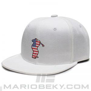 Mario Beky American Golfer Snapback White